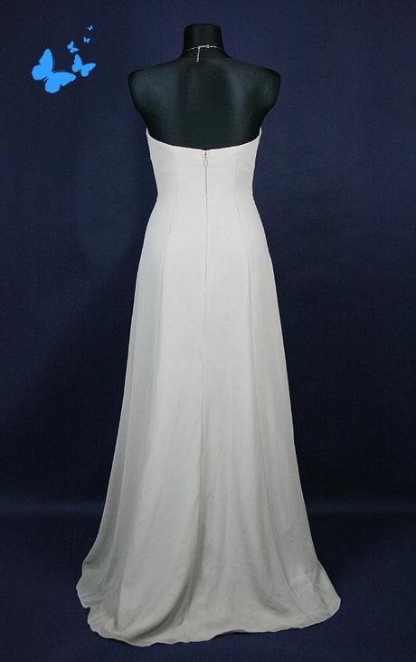 Dlouhé společenské béžové šaty vel 38, 38