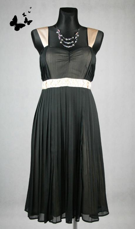 Elegantní společenské šaty vel 38, 38