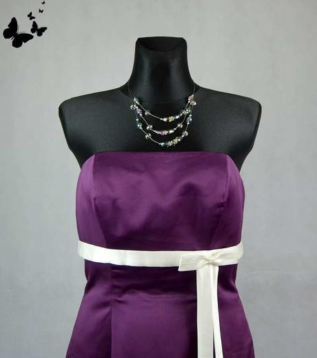 Fialové šaty Amanda Wyatt vel 42, 42