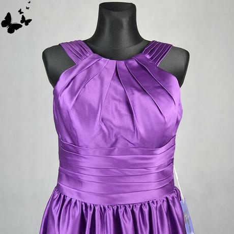 Fialové slavnostní šaty vel 38, 38