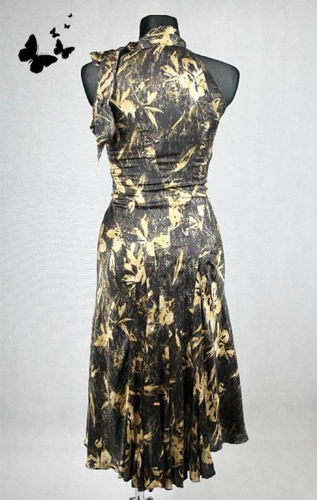 Hnědé elegantní šaty Zara vel 38, 38