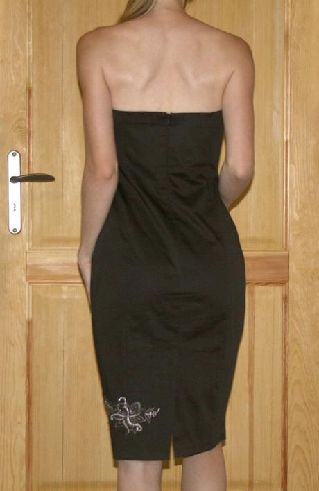 Hnědé šaty Jane Norman vel 38, 38