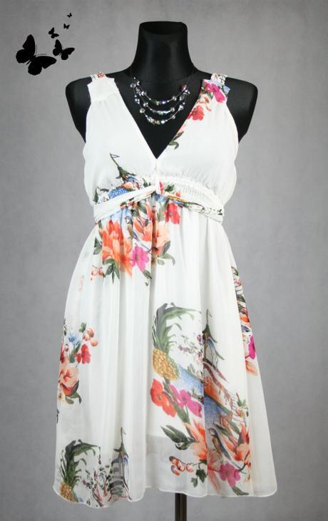 Jarní / letní šaty  na ramínka vel M, 40