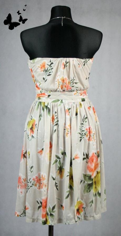 Květované koktejlové šaty MNG vel XL - 44, 44