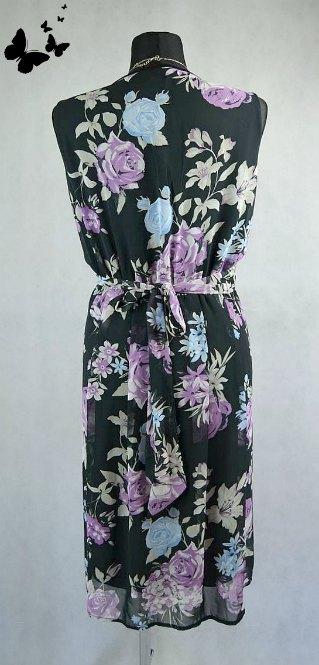 Květované šaty letní vel 46, 46