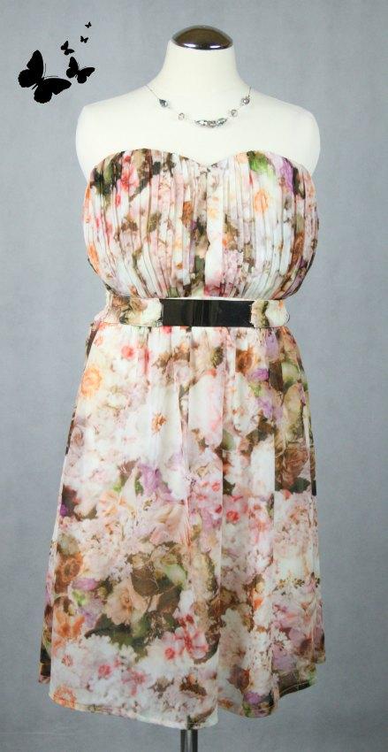 Květované šaty Little Mistress vel 38, 38