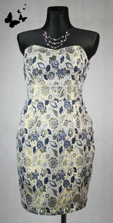 Květované šaty vel 40, 40