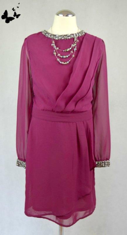 Lehké šaty s rukávem Red Herring vel 38, 38