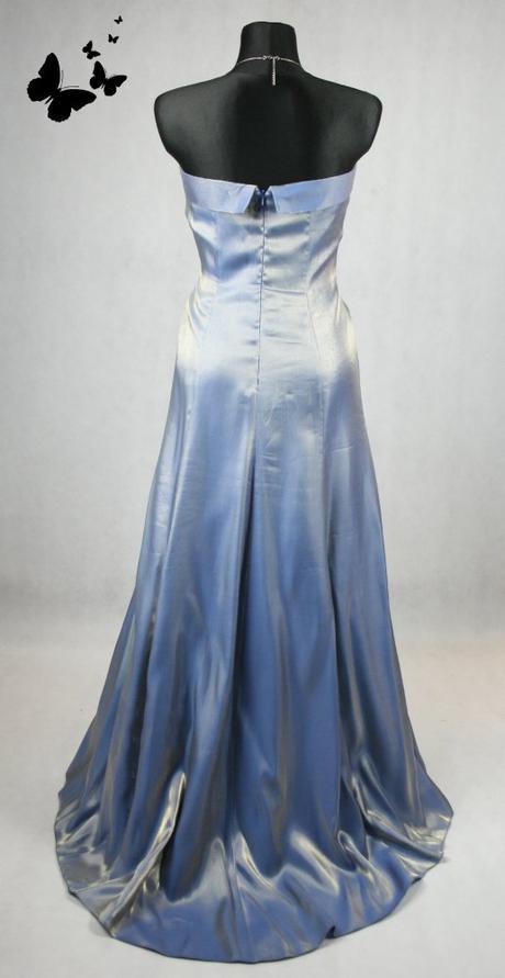 Lesklé dlouhé společenské šaty vel 38-40, 38