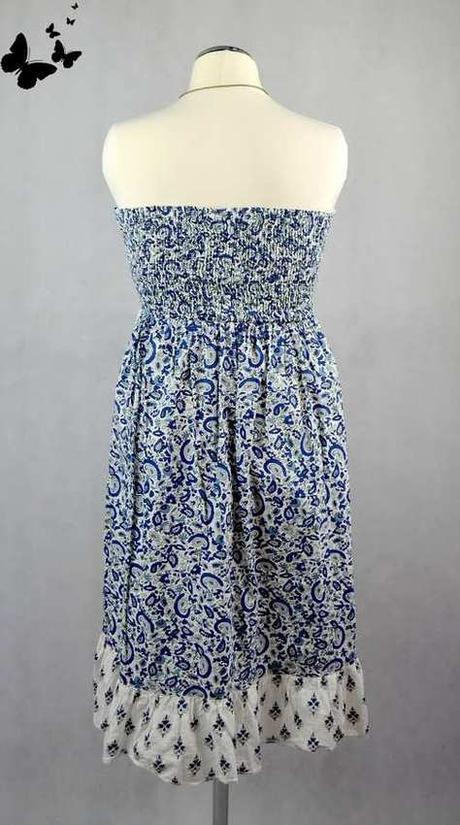 Letní šaty staročeský vzor vel S, 38