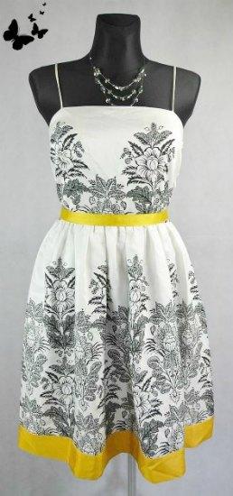 Letní veselé šaty na ramínka vel 44, 44