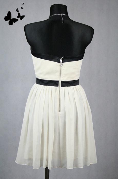 Lipsy černo - béžové šaty vel 40, 40