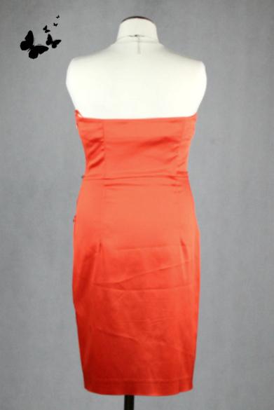 Oranžové šaty Jane Norman vel 36, 36