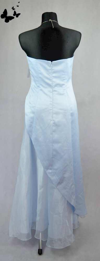 Princeznovské modré šaty vel 40, 40