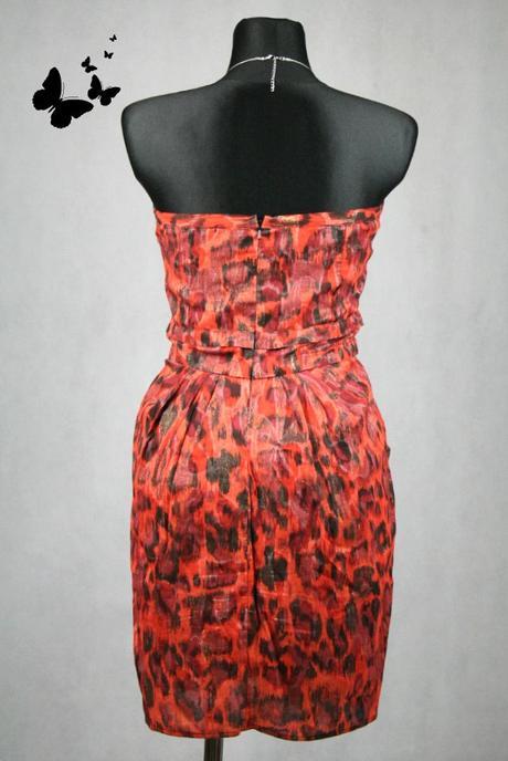 Různobarevné společenské šaty vel 38 / River Islan, 38