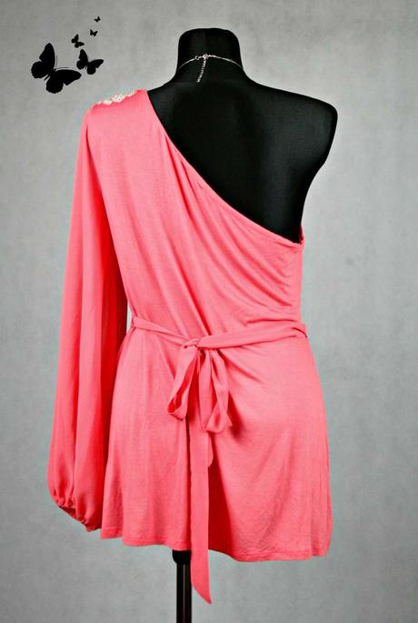 Růžová tunika / šaty vel 44, 44