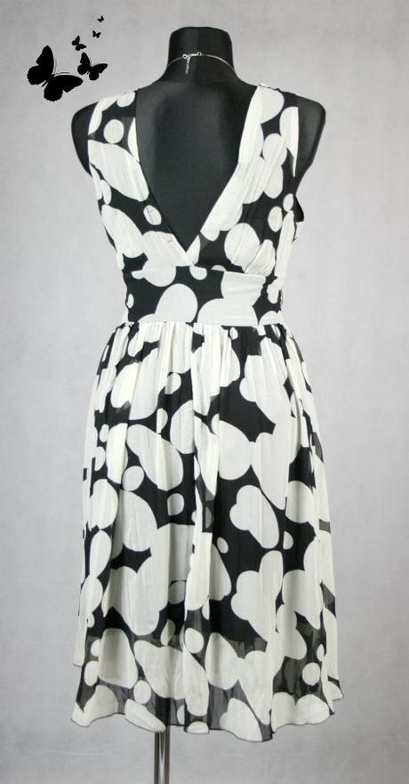 Šedo-černé elegantní šaty vel 42, 42