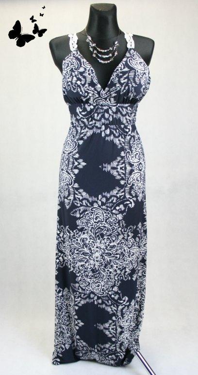 Select šaty s krajkou na zádech vel 38, 38