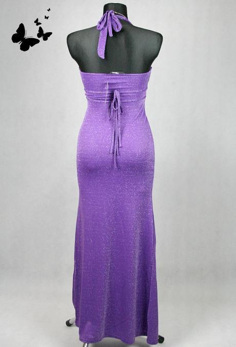 Společenské purpurové šaty Jane Norman vel 36-38, 36