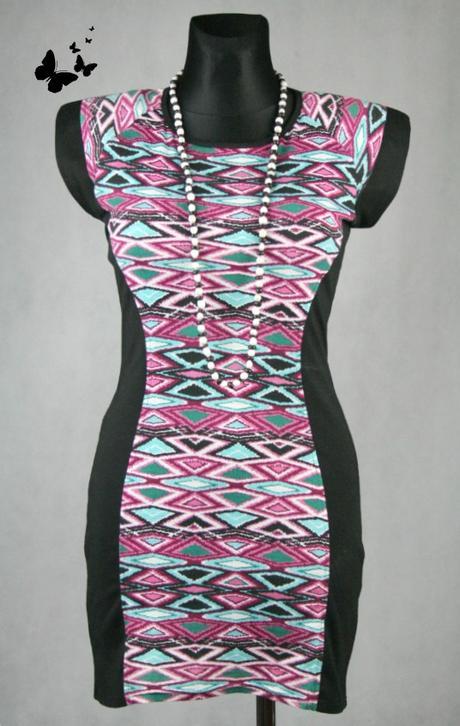 společenské šaty Aztec styl vel 38, 38