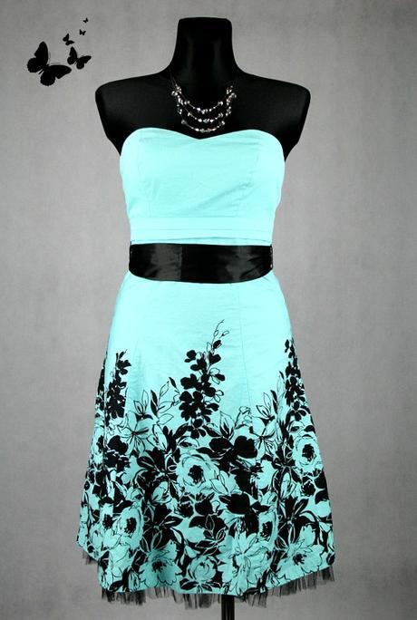 Společenské šaty tyrkysové Jane Norman vel 36, 36