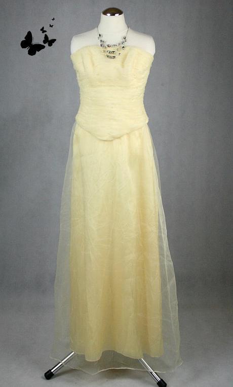 Společenské zlaté šaty vel 34 - 36, 34