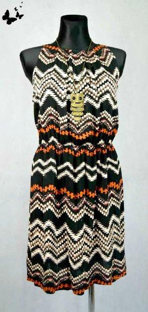 Vzorované letní šaty vel 46 9a030dc6e6