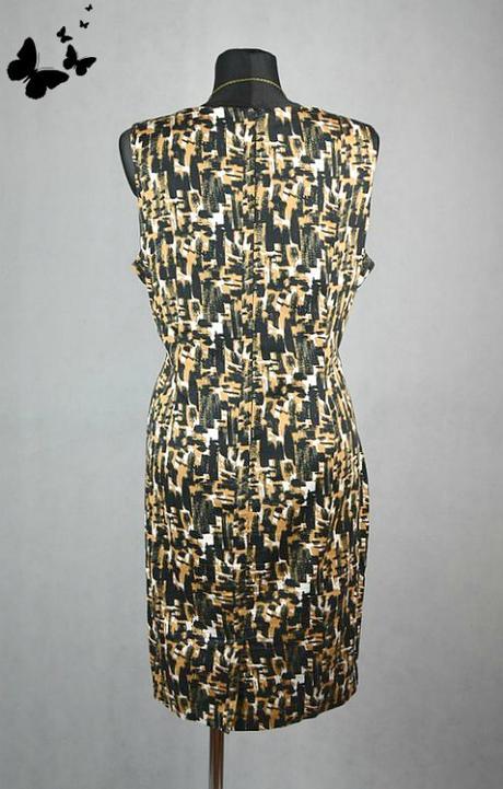 Vzorované šaty vel 46, 46