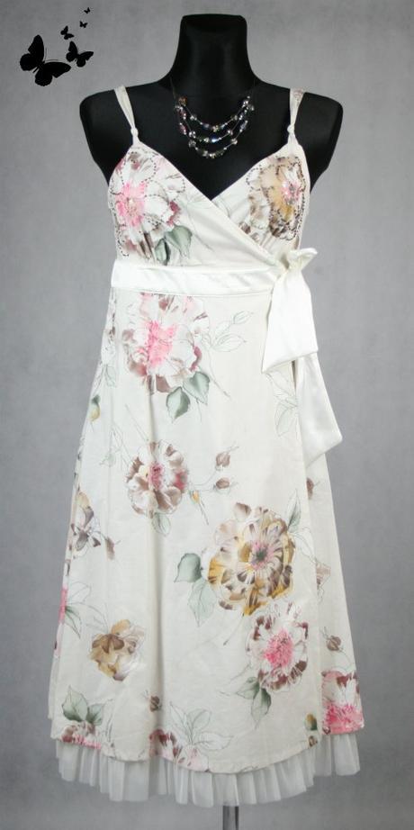 Zavinovací květované šaty George vel 40, 40