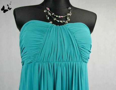 Zelené dlouhé společenské šaty vel 38, 38