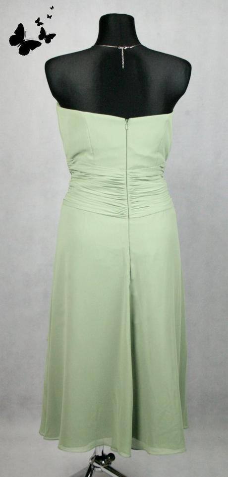 Zelené koktejlové šaty vel 42-44, 42