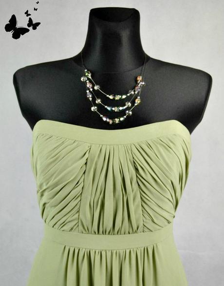 Zelené koktejlové slavnostní šaty vel 40, 40