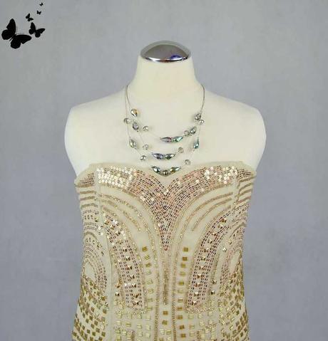 zlaté šaty vel 36, 36