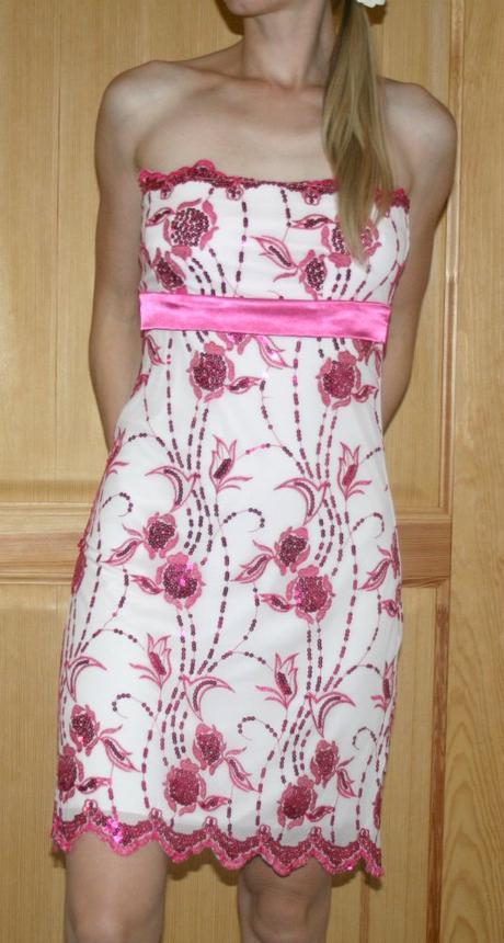 Zn.Bay šaty růžové vel 38, 38