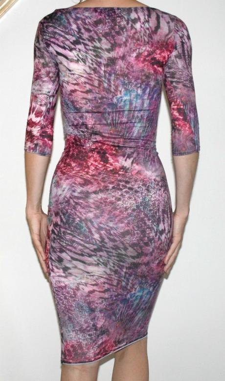 Značkové barevné šaty Republic vel XS, 34