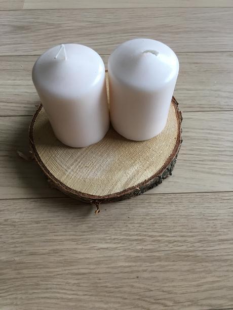 Dřevěná kolečka - dekorace,