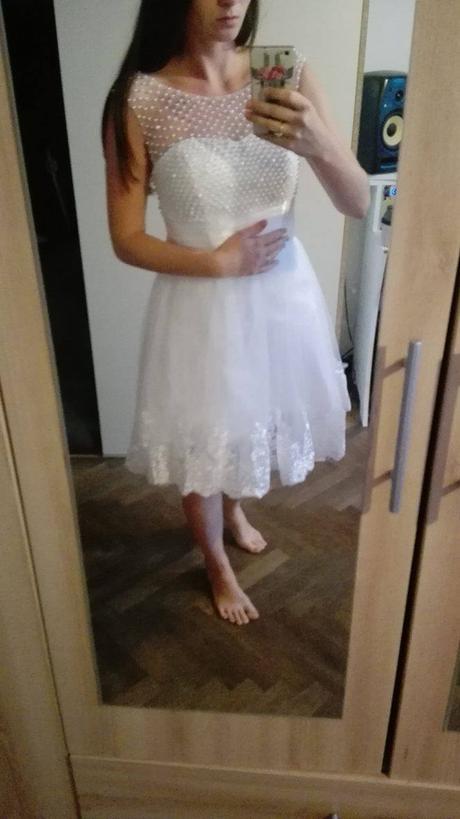 Svatební šaty/popůlnoční šaty/šaty na převlečení, 36