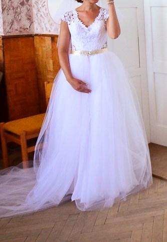 Svadobné šaty 3v1, 38
