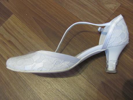 Svatební krajkové boty , 36