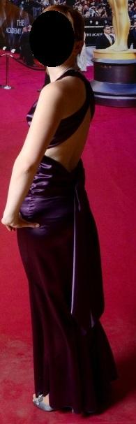 Společenské šaty značky MONA, barva fialová, vel. , 34