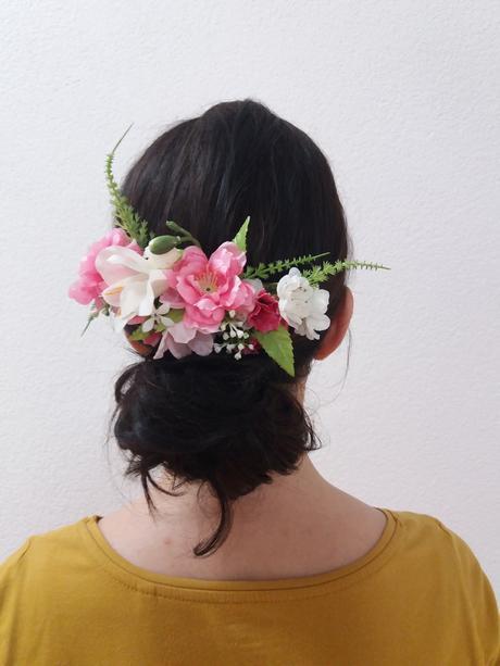 hrebienok kvetovy a pierko pre zenicha,
