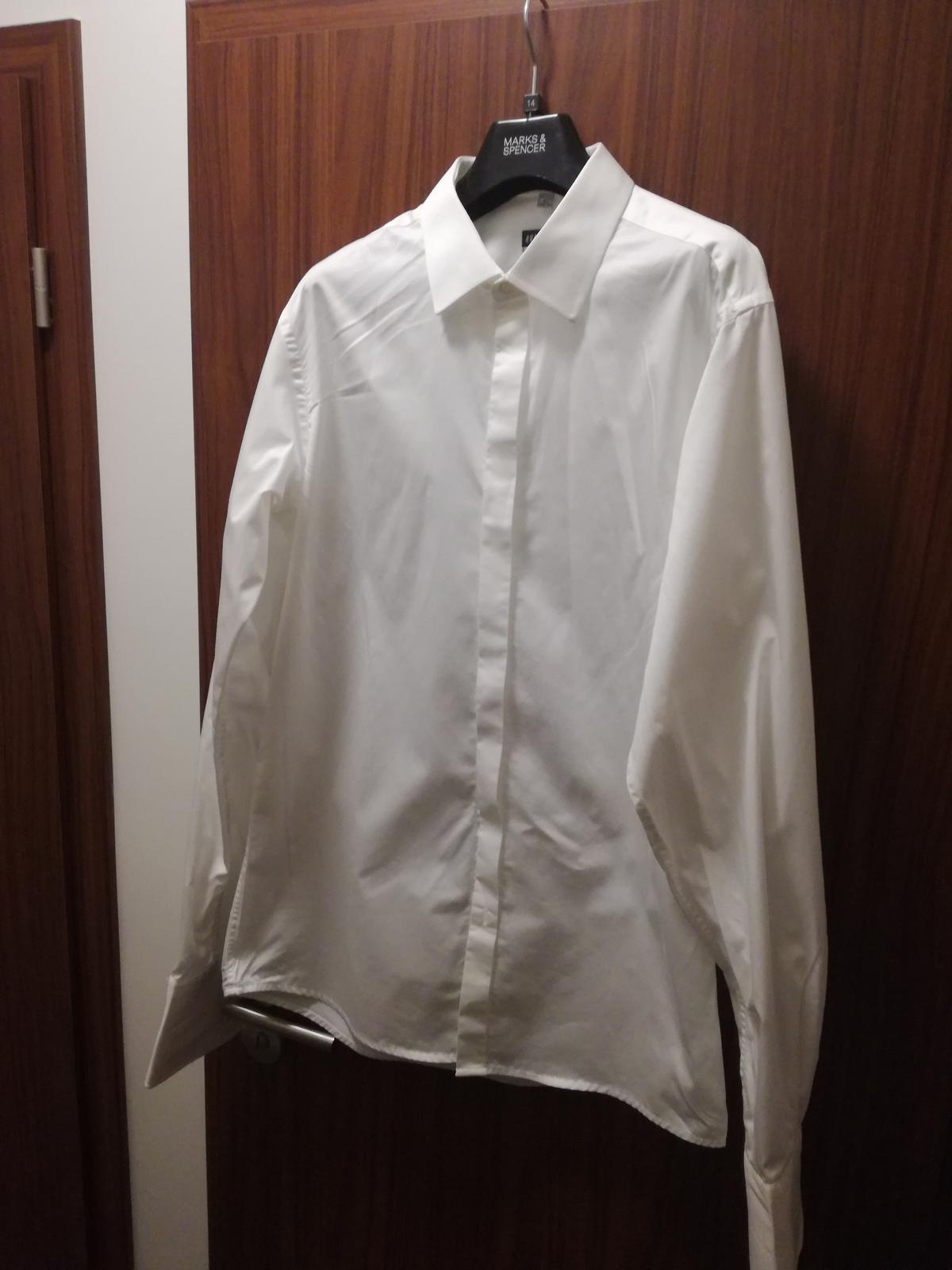 Pánská svatební košile 83eac72059