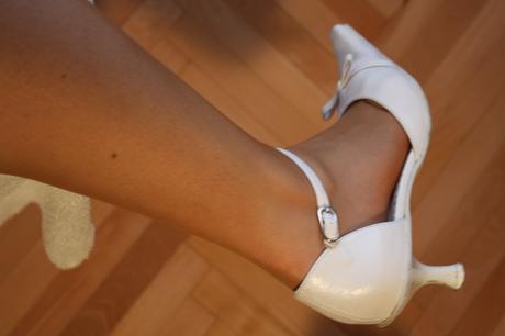 dámske a pánske svadobné topánky, 42
