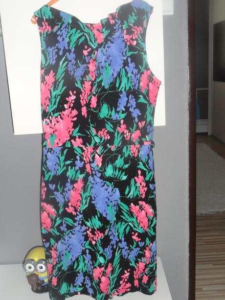 Farebné šaty Mango, 38