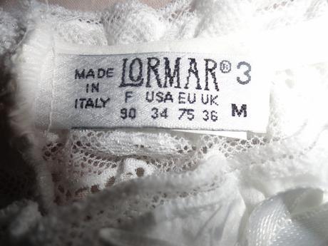 Nenosený podväzkový pás Lormar, 38