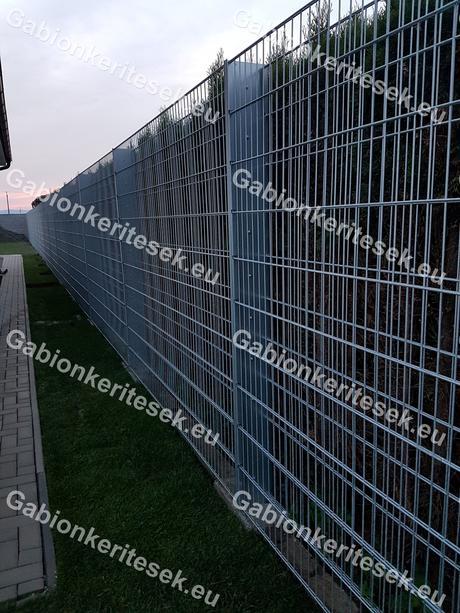 Gabionové ploty novej generácie,