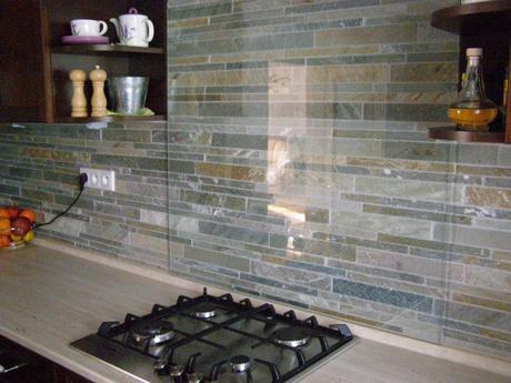 výpredaj kamenná mozaika (šedožltý kvarcit),