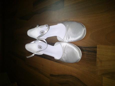 Biele svadobné topánočky, 38