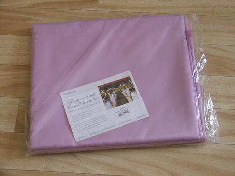 Fialova dekoracna textilia - 1,5x10m,