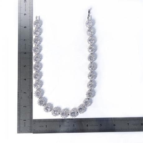 Luxusný zirkónový náhrdelník ,